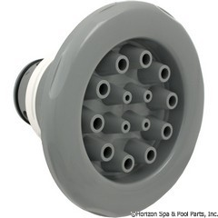 55-605-1414 - Jet Internal,7 Inch ,Massage,8 Scallop,Med.Gray - Replaced By Part 55-605-1416 - 23570-141 - 55-605-1414