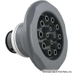 55-605-1416 - Jet Internal,Massage,7 Inch Jumbo,5 Scallop Text, Med Gray - 23571-141-000 - 55-605-1416