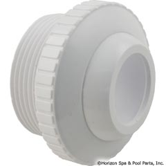 55-605-1800 - Outlet fitting, 1-1/2 Inch mpt x 1 Inch Eye, White - 25552-400-000 - UPC - 849640011409 - 55-605-1800