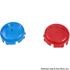 57-150-1122 - BLUE & RED LENS COVER KIT - SPX0590K - UPC - 610377209717 - 57-150-1122