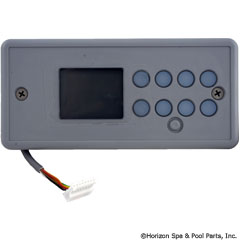 58-337-2002 - TSC/K-4 Lg Rec, 8-Button, LCD Display, No Label - 0201-007148 - 58-337-2002