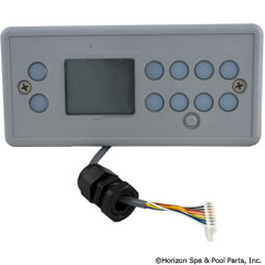 58-337-2004 - TSC/K-4 Lg Rec, 10-Button, LCD Display, No Label - 0201-007044 - 58-337-2004