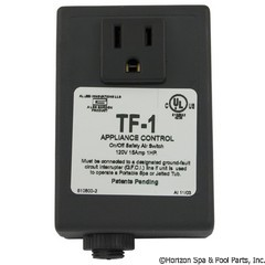 58-439-2402 - TF-1 120V On/Off W/ Receptacle - 910800-001 - 58-439-2402