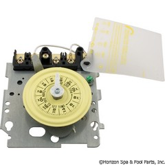 59-155-1030 - Timer Mechanism ONLY, Intermatic, T104, DPST, 230v, 24hr, Yellow Dial - T104M - UPC - 078275000261 - 59-155-1030