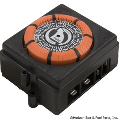 59-155-1370 - Timer, Electric, 7 Day, SPST 20A 240V SUB WITH PART 59-155-1382 - Replaced By Part 59-155-1382 - PB874MKZ - 59-155-1370