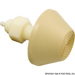 59-319-1403 - TDI Raised Cone Button, Beige - PT13130-03 - 59-319-1403