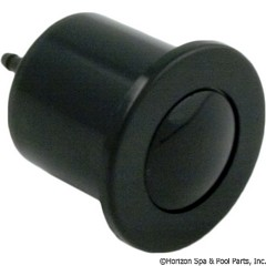 59-345-1000 - Air Button, Microbore, Black - 6434-00 - 59-345-1000