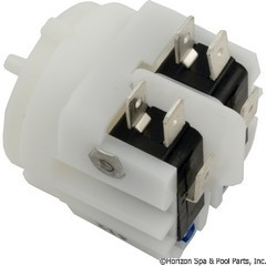 59-369-1315 - Air Switch-Mom, DPDT, Center Spout - ACM-211A - 59-369-1315