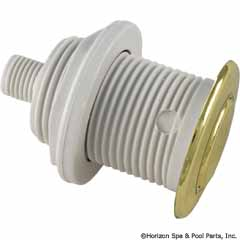 59-410-1003 - GG Flush Metal Trim Kit, Polished Brass SUB WITH PART 59-410-1100 - Replaced By Part 59-410-1100 - 13085-PB - 59-410-1003