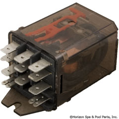 60-285-1204 - Dustcover Relay 120VAC 15A 3PDT .25 Inch - RM705-615 - 60-285-1204