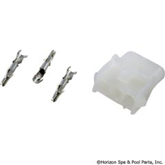 60-322-2000 - AMP Adapter Kit, Female Amp Cap Housing 3-Pin w/ 3 Pins - 60-322-2000