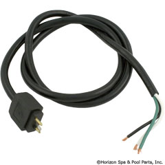 60-462-3375 - Mini Male 2 Pump Cord - SS2PSA-103P-3-C - 60-462-3375