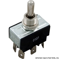 60-555-1516 - Toggle Switch, DPDT Center Off - 3-89652 - 60-555-1516