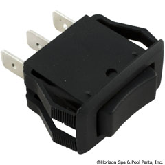 60-555-1618 - Rocker Switch SPDT, Center Off (small size) - C1520AABB - 60-555-1618