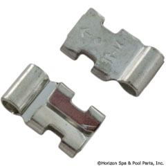 60-555-1783 - Right Angle Fem Disc, Bare 16-14AWG .250 Inch Tab (Pkg 25) - 4X423 - 60-555-1783