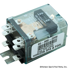 60-555-2206 - (Midtex)Dustcover Relay DPST 24VAC - 92C0842 - 60-555-2206