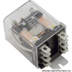 60-583-1005 - Dustcover Relay, DPDT, 120v, 25A (W389ACX-9) - 81F1286 - 60-583-1005