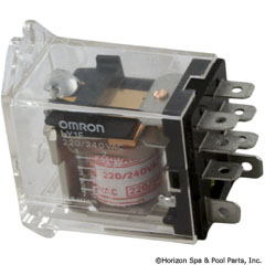 60-584-1200 - Omron LY1-F Relay SPDT 220vac 15amp - LY1-F-AC220 - 60-584-1200