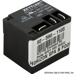 60-590-1105 - AZ2100 Enclosed PC Relay SPDT 20A 15VDC Coil - AZ2100-1C-15DE - 60-590-1105