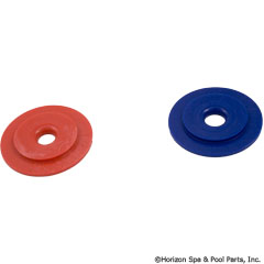 87-100-1502 - UWF Restrictor Disks, Red and Blue (380/280/180) - 10-112-00 - UPC - 738919006645 - 87-100-1502