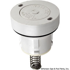 87-106-1064 - Style I Cleaning Head Internal Only- Low Flow (White) - 521800 - 87-106-1064