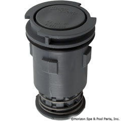 87-106-1164 - Gamma III Cleaning Head Internal Only- Low Flow (Gray) - 554628 - 87-106-1164