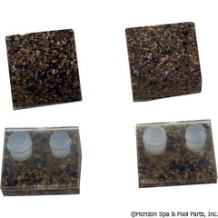 87-150-1028 - Pod Shoes Kit, Cork, Pack of 4 - AXV014FNP - UPC - 610377212182 - 87-150-1028