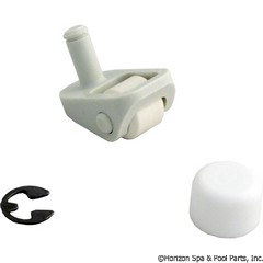 87-295-1018 - Swivel Wheel Kit, Gunite, White - R0379100 - UPC - 052337019194 - 87-295-1018