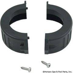 89-238-1044 - 2 Inch Split Nut for Heaters, w/Screws, Waterway - 400-5421 - UPC - 806105081858 - 89-238-1044