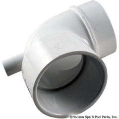 89-270-1026 - Vacuum Break Fitting, 2.5 Inch 90 Ell - 642-3610V - 89-270-1026