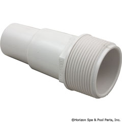 417-6060 - Hose Adapter 1 1/2 Inch MPT x (1 1/4 Inch /1 1/2 Inch ) Hose Fitting - W - 417-6060 - UPC - 806105085993
