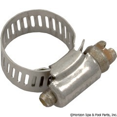89-423-1002 - Stainless Clamp, 7/16 Inch to 1 Inch - H03-0001 - 89-423-1002