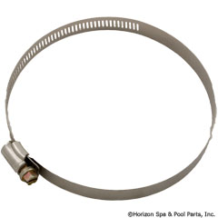 89-423-1012 - Stainless Clamp, 3-1/8 Inch to 5 Inch - H03-0019 - 89-423-1012