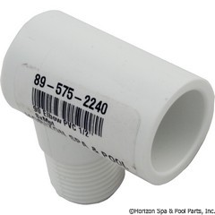 89-575-2240 - 90 Elbow PVC 1/2 Inch SxMpt - 410-005 - 89-575-2240