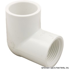 89-575-2252 - 90 Elbow PVC 1 Inch SxFpt - 407-010 - 89-575-2252