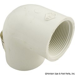 89-575-2254 - 90 Elbow PVC 1.5 Inch SxFpt - 407-015 - 89-575-2254