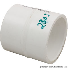 89-575-2305 - Coupling PVC 1-1/4 Inch SxS SUB WITH PART 89-575-2333 - Replaced By Part 89-575-2333 - 429-012 - UPC - 049081138707 - 89-575-2305