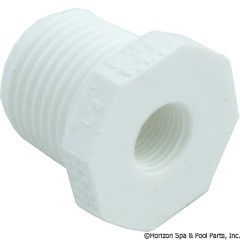 89-575-2495 - Reducer PVC 1/2 Inch x 1/8 Inch MPT x FPT - 439-071 - UPC - 049081635541 - 89-575-2495