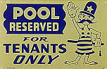 Pool Reserved For Tenants