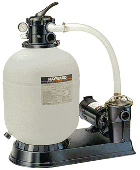 Hayward Pro Series Sand Filters with Pumps for AG & IG Pools
