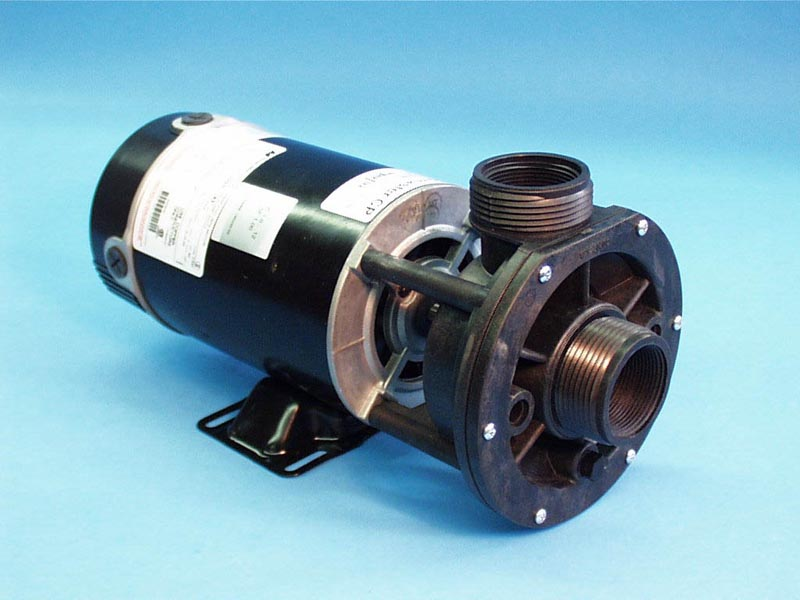 02615005 - Pump Assy, AQUAFLO FMCP, Center Discharge, 1.5HP, 2 Speed, 230V, 48 Frame, 1-1/2 Inch MBT In/Out, No Unions, No Cord - 02615005
