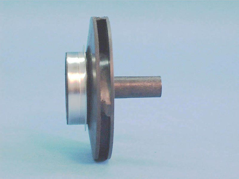 05-3821-06 - Pump Impeller,JACUZZ,L,LC,LTC,1HP,w/Steel Wear Ring - 05-3821-06
