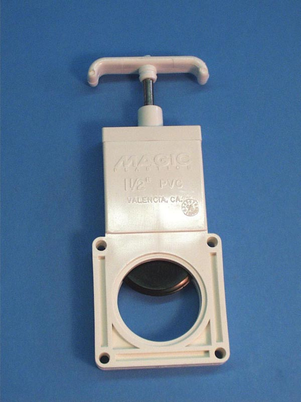 0603-15 - Valve Body,MAGIC,3 Pc Slide Valve,1-1/2 Inch ,w/ Handle,No Seals - 0603-15
