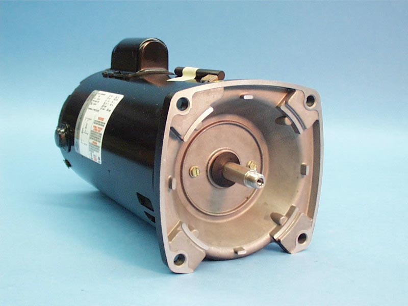 1205007433 - Pump Motor,BLUFFTON,Sq Flange,56Fr,2Spd,2.5HP,240v, - 1205007433