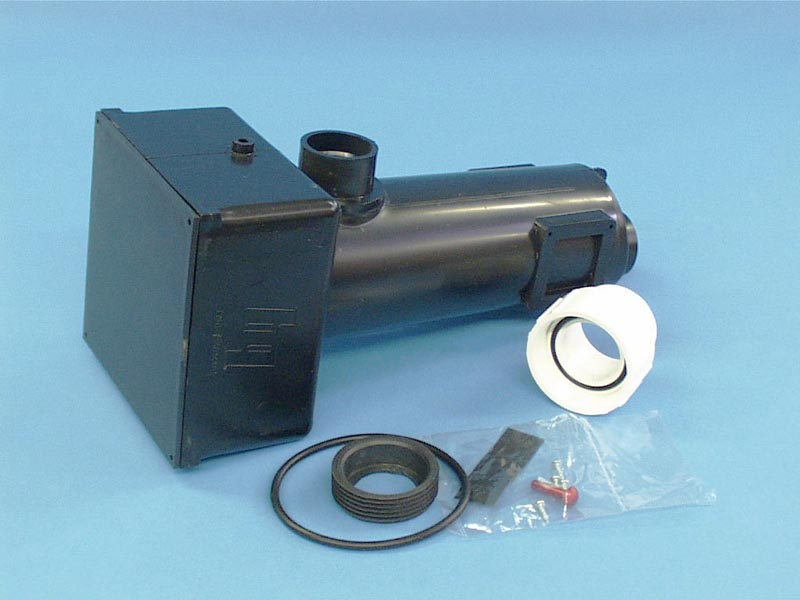 16-060-0002 - Heater Manifold w/Lid, HYDROQUIP, 500/4000 Series, ABS Plastic - 16-060-0002