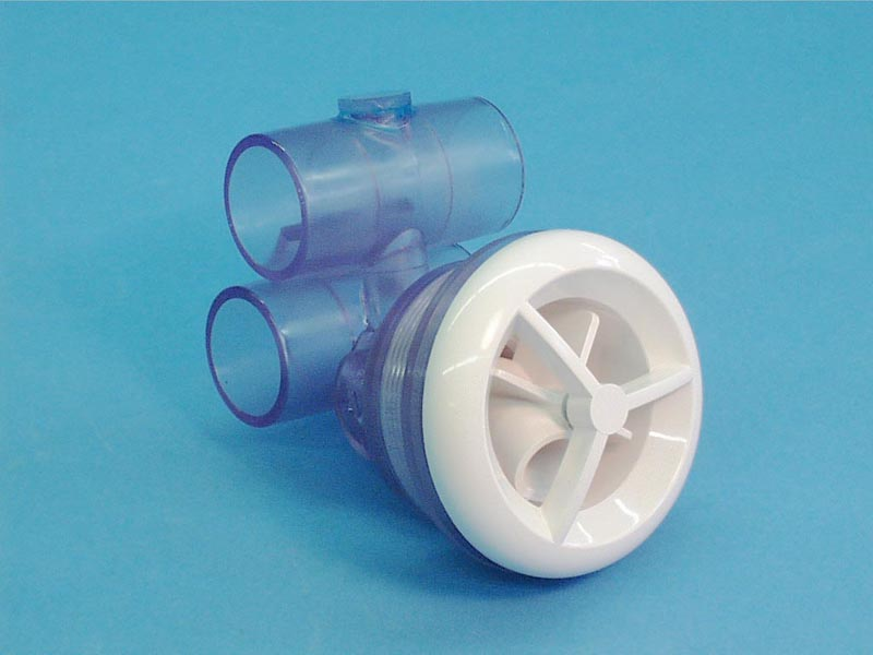 16-5200 - Jet Assy,ITT,Micro'ssage,Rotating,1 Inch S Air x 1 Inch S Water,White - 16-5200