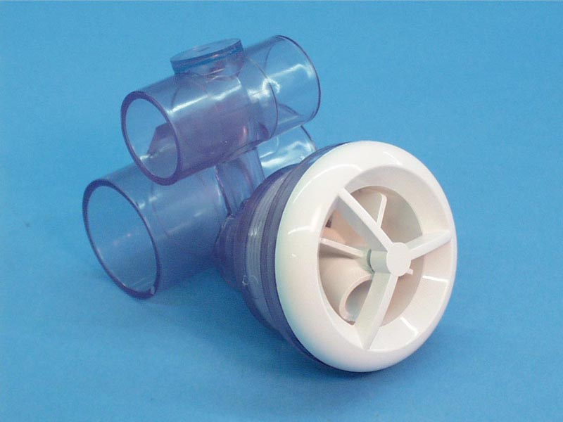 16-5250 - Jet Assy,ITT,Micro'ssage,Rotating,1 Inch S Air x 1-1/2 Inch S Wtr,Wht - 16-5250