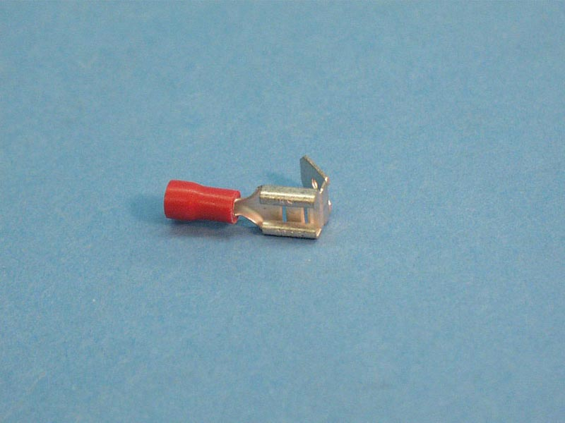 1740 - Wire Terminals,.187 Dbl Up ,22-16 Gau,Red,(25 Pk) - 1740