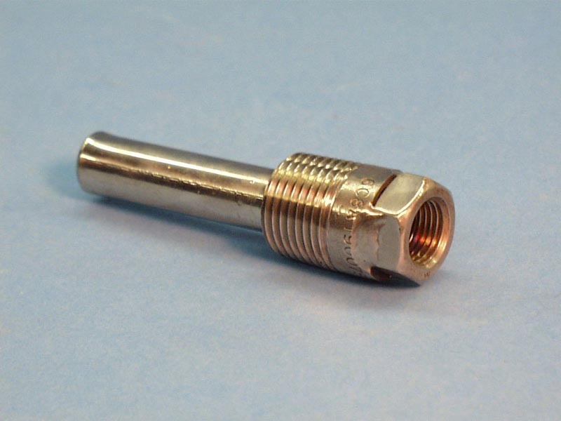 20-3253 - Thermowell,Stainless Steel,1/2 Inch Bulb,3-1/4 Inch Long,1/2 Inch MPT - 20-3253