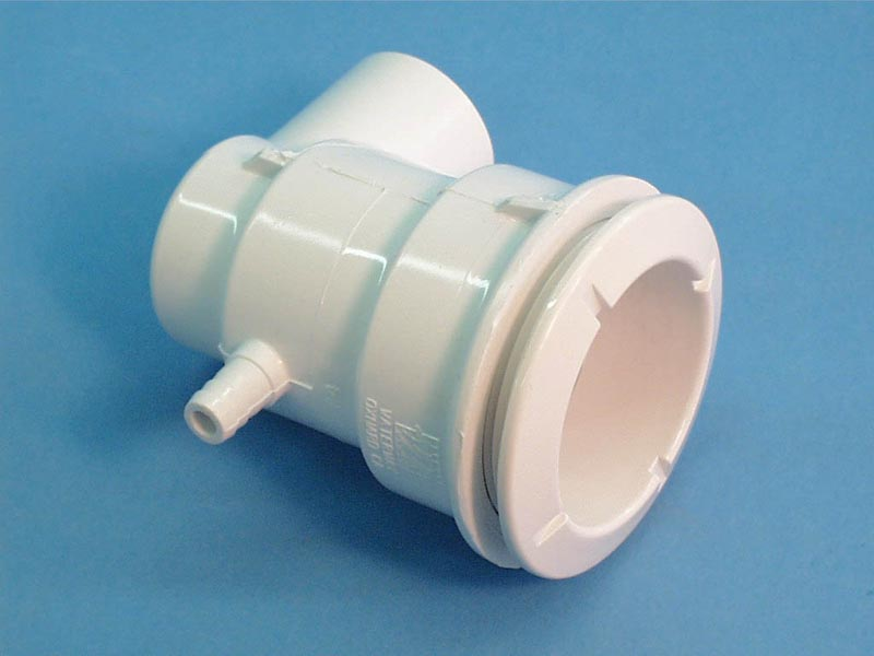 210-5770 - Jet Body Assy,WATERW,Poly,3/8 Inch RB Air x 1 Inch S Water,Ell,White - 210-5770